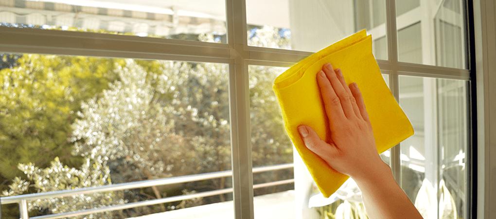 Glazen wassen Loosdrecht